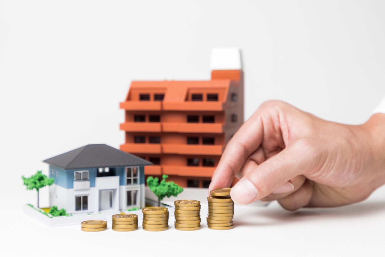 住宅とお金の模型